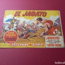 Tebeos: EL JABATO Nº 1 / BRUGUERA ORIGINAL. Lote 262123670