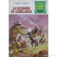 Tebeos: JOYAS LITERARIAS JUVENILES- Nº 206 -LA CAZADORA DE CABELLERAS-1979-JUAN ESCANDELL-DIFÍCIL-BUENO-4707. Lote 262125435