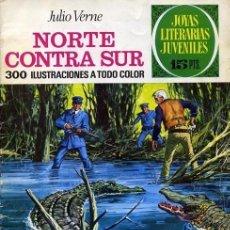 Tebeos: JOYAS LITERARIAS JUVENILES- Nº 56 -NORTE CONTRA SUR-1972-ANTONIO COLMEIRO-2ª ED-M.BUENO-LEAN-4708. Lote 262128470