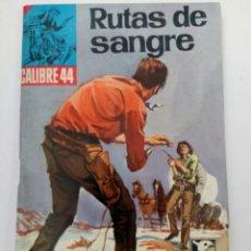 Giornalini: RUTAS DE SANGRE - CALIBRE 44 - BRUGUERA. Lote 262205545