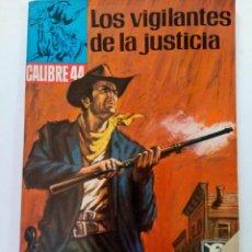 Giornalini: LOS VIGILANTES DE LA JUSTICIA - CALIBRE 44 Nº 36 - BRUGUERA. Lote 262205650