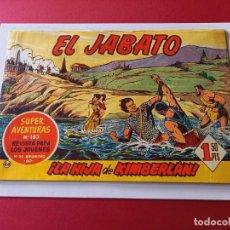 Tebeos: EL JABATO Nº 44 EDITORIAL BRUGUERA ORIGINAL. Lote 262207350