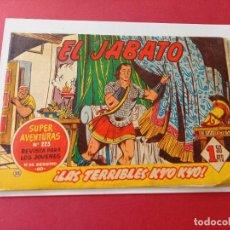 Tebeos: EL JABATO Nº 55 EDITORIAL BRUGUERA ORIGINAL. Lote 262207970