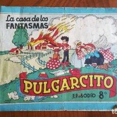 Tebeos: PULGARCITO LA CASA DE LOS FANTASMAS NÚMERO 8 ORIGINAL. Lote 262211590