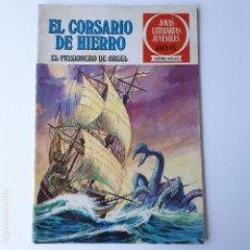 Tebeos: EL CORSARIO DE HIERRO- Nº10 - 1977- EL PRISIONERO DE ARGEL. Lote 262243380