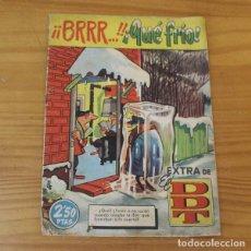 Tebeos: DDT EXTRA BRRR QUE FRIO. BRUGUERA 1961 IBAÑEZ, CONTI, PEÑARROYA.... Lote 262348815