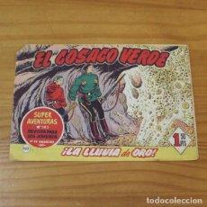Tebeos: EL COSACO VERDE 102 LA LLUVIA DE ORO. ORIGINAL BRUGUERA 1962 SUPER AVENTURAS 585. Lote 262349205