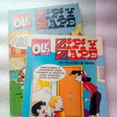 Tebeos: PACK 2 COMICS ZIPY Y ZAPE. Lote 262408835