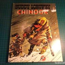 Tebeos: BUDDY LONGWAY. CHINOOK. JET BRUGUERA. 1° EDICION. (S-A). Lote 262419535