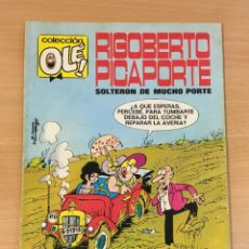 Tebeos: TBO COLECCIÓN OLÉ Nº 7 - ROBERTO PICAPORTE, SOLTERÓN CON MUCHO PORTE. 3ª ED, 1979. Lote 262459470