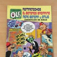 Tebeos: TBO COLECCIÓN OLÉ Nº 109 - COMBINADO DE RISAS CON ROMPETECHOS, EL BOTONES SACARINO... 3ª ED, 1979. Lote 262463770