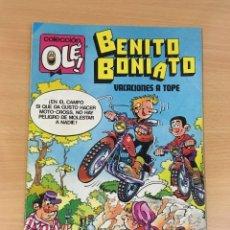 Tebeos: TBO COLECCIÓN OLÉ Nº 7 - BENITO BONIATO EN VACACIONES A TOPE. 1ª ED, 1984. Lote 262464135