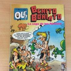 Tebeos: TBO COLECCIÓN OLÉ Nº 2 - BENITO BONIATO EN LA SAGA DE LOS BONIATO. 1ª ED, 1984. Lote 262464395