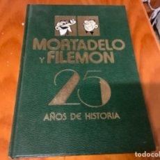 Tebeos: MORTADELO Y FILEMON 25 AÑOS DE HSOTORIA. Lote 262484095