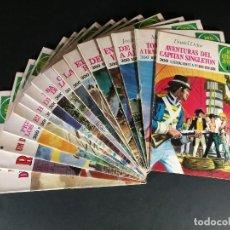 Tebeos: LOTE JOYAS LITERARIAS JUVENILES 1RA EDICIÓN 16 NÚMEROS EDITORIAL BRUGUERA. Lote 262525100