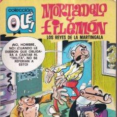 Tebeos: MORTADELO Y FILEMÓN - LOS REYES DE LA MARTINGALA - COLECCIÓN OLÉ Nº 163 - BRUGUERA 1985. Lote 262549525