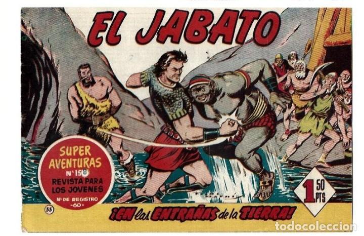 EL JABATO ORIGINAL Nº 33 (Tebeos y Comics - Bruguera - Jabato)