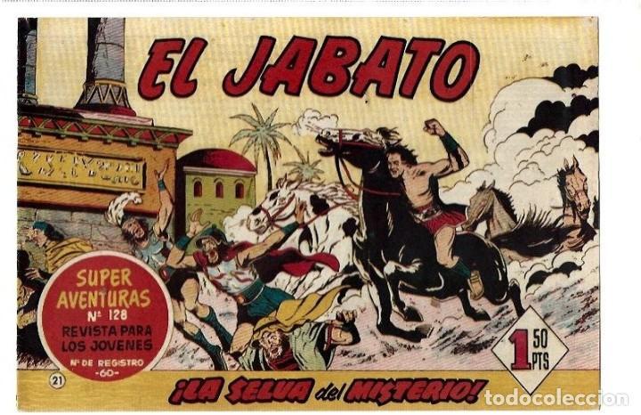 EL JABATO ORIGINAL Nº 21 (Tebeos y Comics - Bruguera - Jabato)