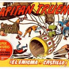 BDs: Nº 209 EL CAPITAN TRUENO CUADERNOS ORIGINALES ED. BRUGUERA, S. A., 1956-1968. Lote 262571295
