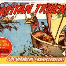 BDs: Nº 211 EL CAPITAN TRUENO CUADERNOS ORIGINALES ED. BRUGUERA, S. A., 1956-1968. Lote 262571620