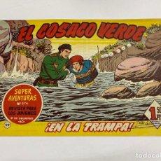 Tebeos: EL COSACO VERDE. Nº 99.- ¡EN LA TRAMPA!. EDITORIAL BRUGUERA. Lote 262597555