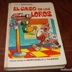Tebeos: COLECCIÓN RISA LOCA Nº 3 EL CASO DE LOS LOROS, MORTADELO Y FILEMÓN BRUGUERA 1ª ED. MARZO 1.973 DEFEC. Lote 262599955