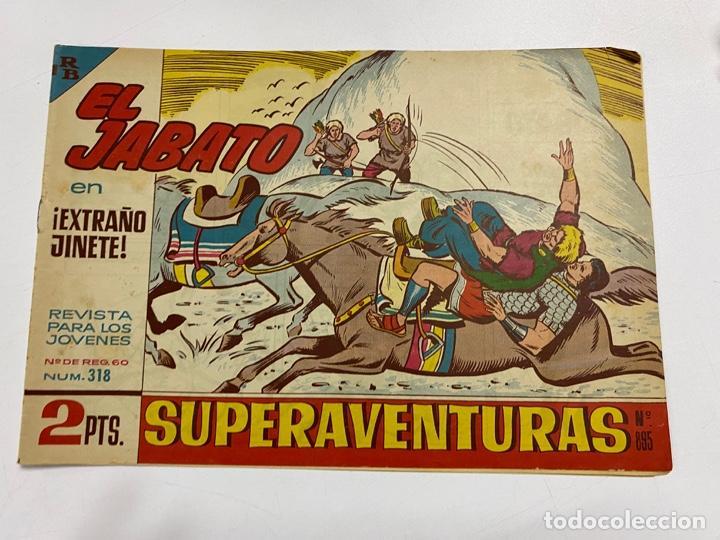 EL JABATO. Nº 318.- ¡EXTRAÑO JINETE!. EDITORIAL BRUGUERA (Tebeos y Comics - Bruguera - Jabato)