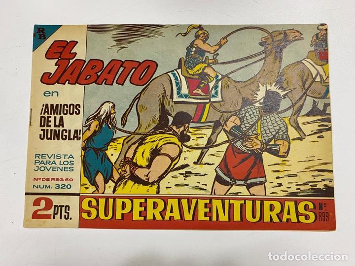 EL JABATO. Nº 320.- ¡AMIGOS DE LA JUNGLA!. EDITORIAL BRUGUERA (Tebeos y Comics - Bruguera - Jabato)
