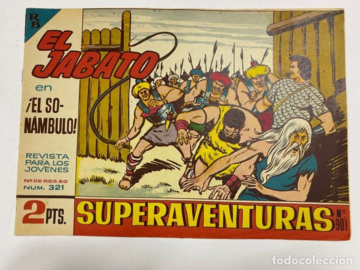 EL JABATO. Nº 321.- ¡EL SONÁMBULO!. EDITORIAL BRUGUERA (Tebeos y Comics - Bruguera - Jabato)