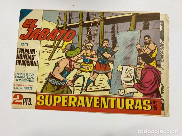 EL JABATO. Nº 323.- ¡PAPAMINONDAS EN ACCION!. EDITORIAL BRUGUERA (Tebeos y Comics - Bruguera - Jabato)