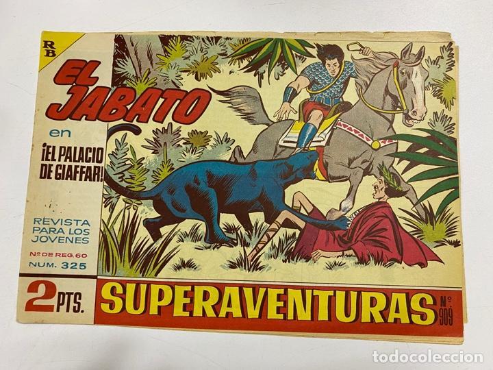 EL JABATO. Nº 325.- ¡EL PALACIO DE GIAFFAR!. EDITORIAL BRUGUERA (Tebeos y Comics - Bruguera - Jabato)