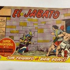 Tebeos: EL JABATO. Nº 368.- ¡UN TRIUNFO DE VAN DONG!. EDITORIAL BRUGUERA. Lote 262600950