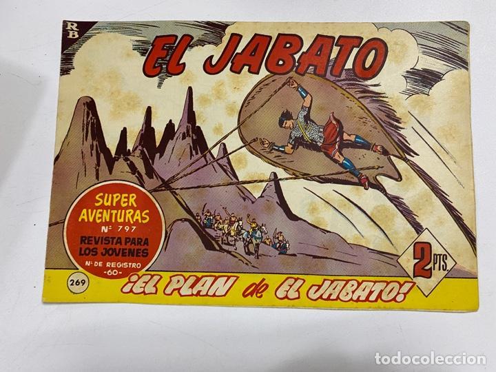 EL JABATO. Nº 369.- ¡EL PLAN DE EL JABATO!. EDITORIAL BRUGUERA (Tebeos y Comics - Bruguera - Jabato)