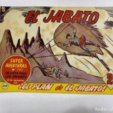Tebeos: EL JABATO. Nº 369.- ¡EL PLAN DE EL JABATO!. EDITORIAL BRUGUERA. Lote 262601010