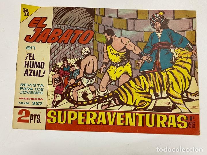 EL JABATO. Nº 327.- ¡EL HUMO AZUL!. EDITORIAL BRUGUERA (Tebeos y Comics - Bruguera - Jabato)