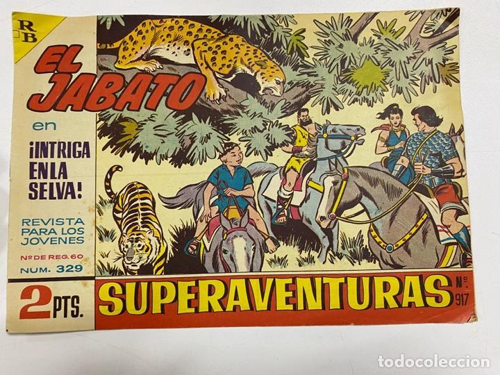 EL JABATO. Nº 329.- ¡INTRIGA EN LA SELVA!. EDITORIAL BRUGUERA (Tebeos y Comics - Bruguera - Jabato)