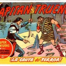 BDs: Nº 220 EL CAPITAN TRUENO CUADERNOS ORIGINALES ED. BRUGUERA, S. A., 1956-1968. Lote 262601690