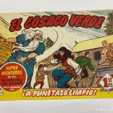 Tebeos: EL COSACO VERDE. Nº 72.- ¡A PUÑETAZO LIMPIO!. EDITORIAL BRUGUERA. Lote 262602215