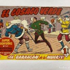 Tebeos: EL COSACO VERDE. Nº 95.- ¡EL BARRACÓN DE LA MUERTE!. EDITORIAL BRUGUERA. Lote 262602345