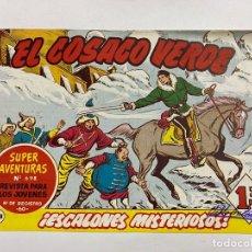 Tebeos: EL COSACO VERDE. Nº 138.- ¡ESCALONES MISTERIOSOS!. EDITORIAL BRUGUERA. Lote 262602415