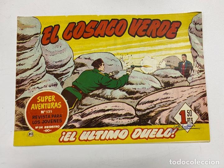 EL COSACO VERDE. Nº 82.- ¡EL ULTIMO DUELO!. EDITORIAL BRUGUERA (Tebeos y Comics - Bruguera - Cosaco Verde)