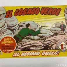 Tebeos: EL COSACO VERDE. Nº 82.- ¡EL ULTIMO DUELO!. EDITORIAL BRUGUERA. Lote 262602745