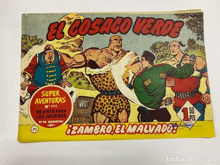 EL COSACO VERDE. Nº 71.- ¡ZAMBRO, EL MALVADO!. EDITORIAL BRUGUERA (Tebeos y Comics - Bruguera - Cosaco Verde)
