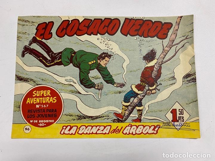 EL COSACO VERDE. Nº 96.- ¡LA DANZA DEL ÁRBOL!. EDITORIAL BRUGUERA (Tebeos y Comics - Bruguera - Cosaco Verde)