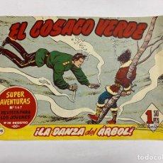 Tebeos: EL COSACO VERDE. Nº 96.- ¡LA DANZA DEL ÁRBOL!. EDITORIAL BRUGUERA. Lote 262603525