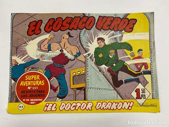 EL COSACO VERDE. Nº 92.- ¡EL DOCTOR DRAKON!. EDITORIAL BRUGUERA (Tebeos y Comics - Bruguera - Cosaco Verde)