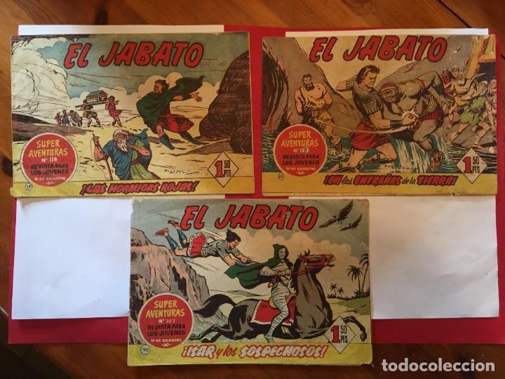 COMIC EL JABATO SUPER AVENTURAS Nº 17 - 33 - 90 - (Tebeos y Comics - Bruguera - Jabato)