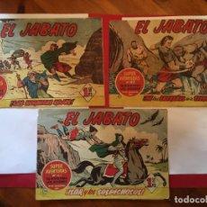 Tebeos: COMIC EL JABATO SUPER AVENTURAS Nº 17 - 33 - 90 -. Lote 262604550