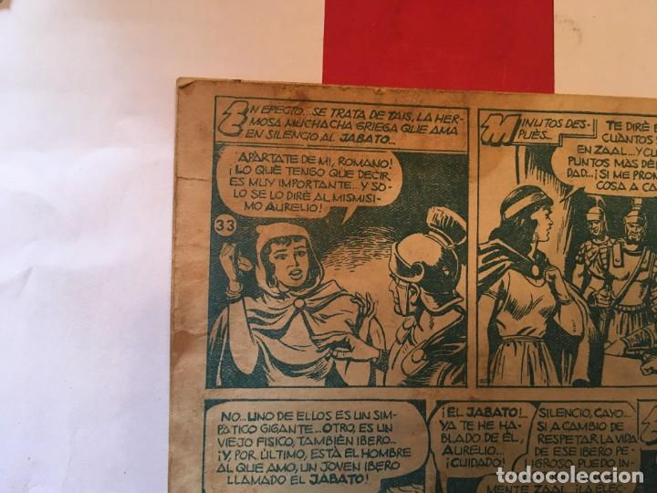 Tebeos: comic el jabato super aventuras nº 17 - 33 - 90 - - Foto 9 - 262604550