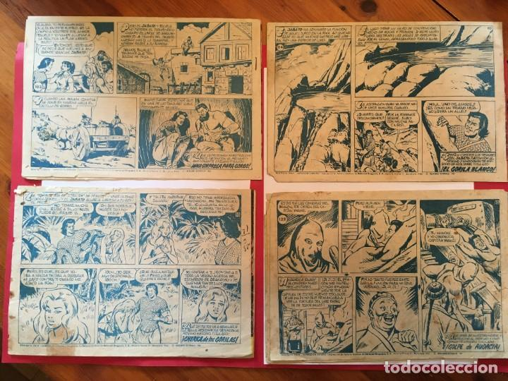 Tebeos: comic el jabato super aventuras nº 103 - 114 - 116 -122 - - Foto 2 - 262606595